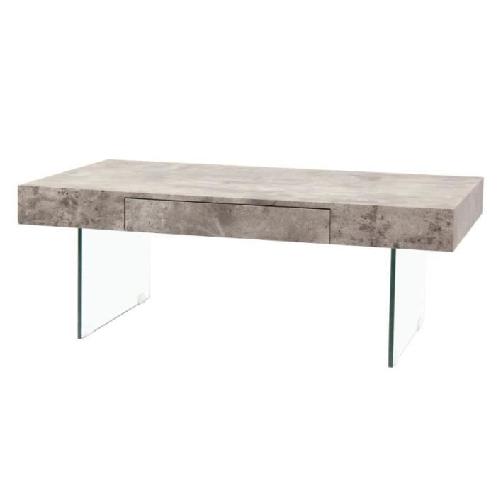 table basse pescara table basse style en verre tr with table beton pas cher. Black Bedroom Furniture Sets. Home Design Ideas