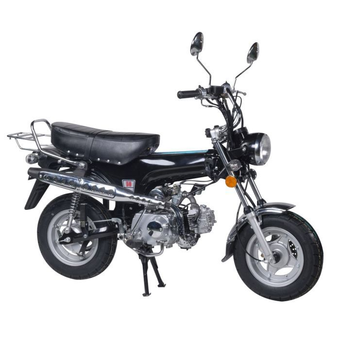 mini moto 125cc noir dax replica achat vente moto 0 cdiscount. Black Bedroom Furniture Sets. Home Design Ideas