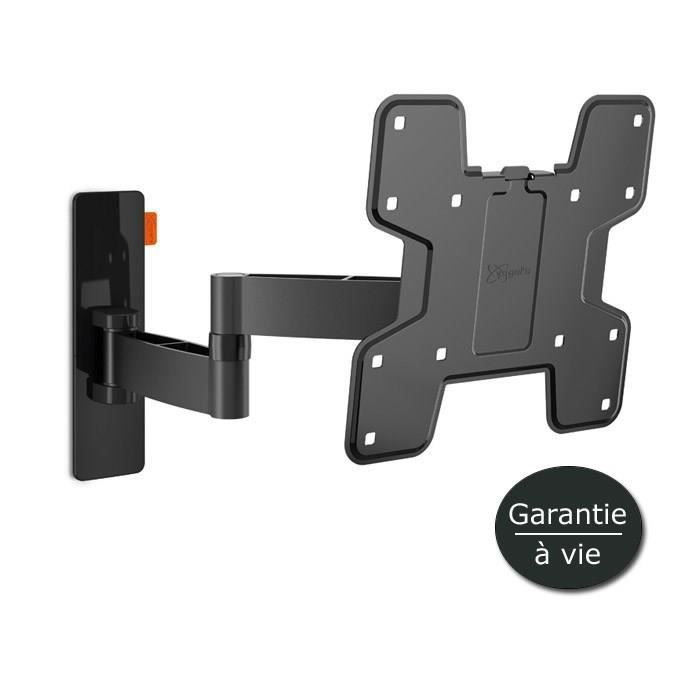 Vogel 39 s wall 2145 support tv mural orientable 19 37 noir fixation support tv avis et prix - Support tv mural orientable ...