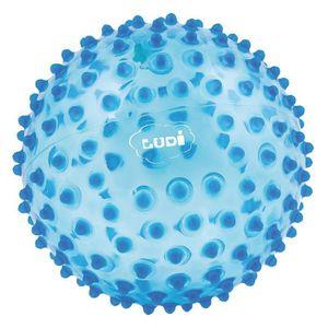 BALLE - BOULE - BALLON LUDI - Balle sensorielle bleue pour l'éveil de béb