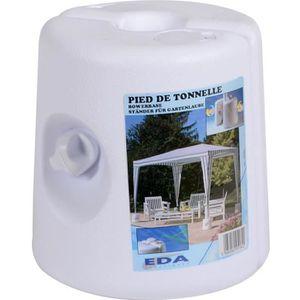 TONNELLE - BARNUM EDA PLASTIQUE Pied de tonnelle - Blanc