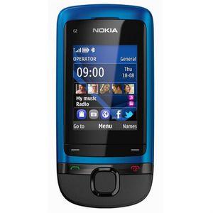 Téléphone portable Nokia C2-05 Bleu