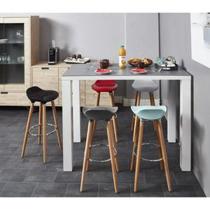 tabouret de bar 63 cm achat vente pas cher. Black Bedroom Furniture Sets. Home Design Ideas
