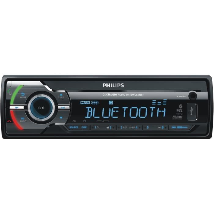 philips ce235bt autoradio num rique usb bluetooth sdhc achat vente autoradio philips. Black Bedroom Furniture Sets. Home Design Ideas