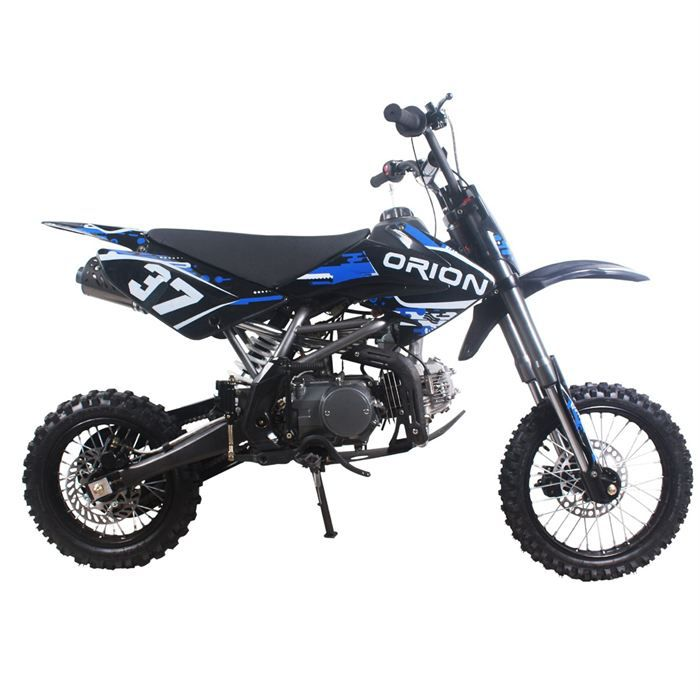 dirt bike 125 cc apollo orion noir bleu achat vente. Black Bedroom Furniture Sets. Home Design Ideas