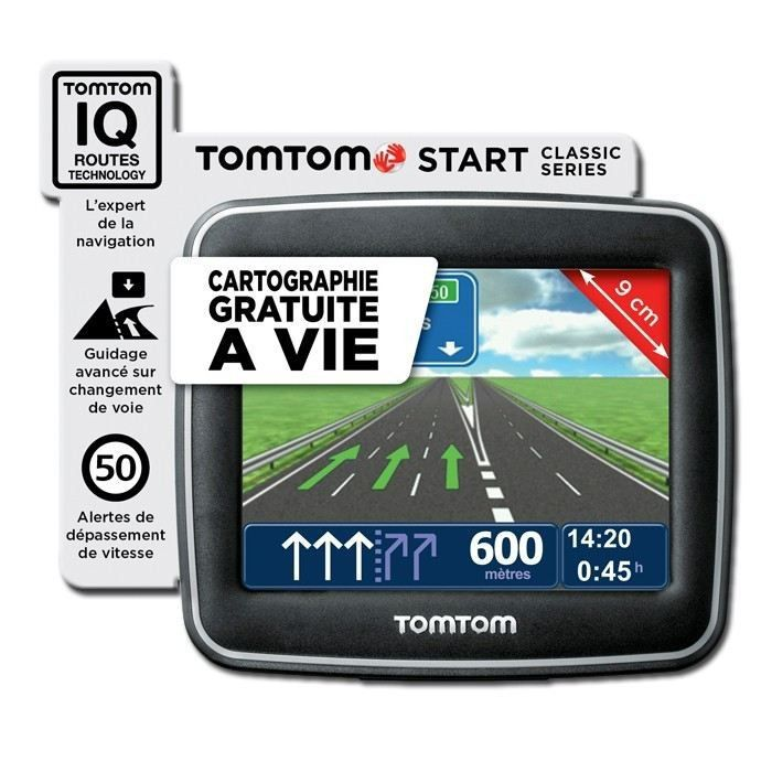 carte europe tomtom one