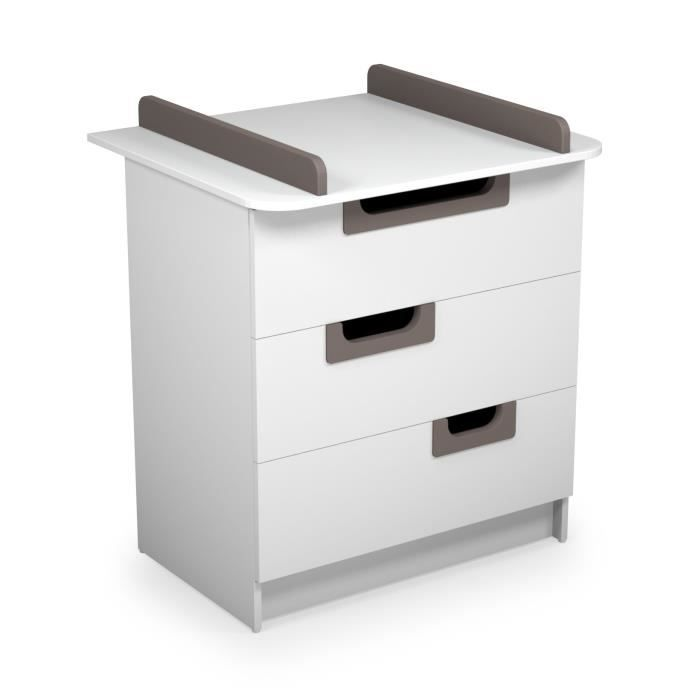 Commode a langer taupe achat vente commode a langer taupe pas cher cdis - Commode a langer cdiscount ...