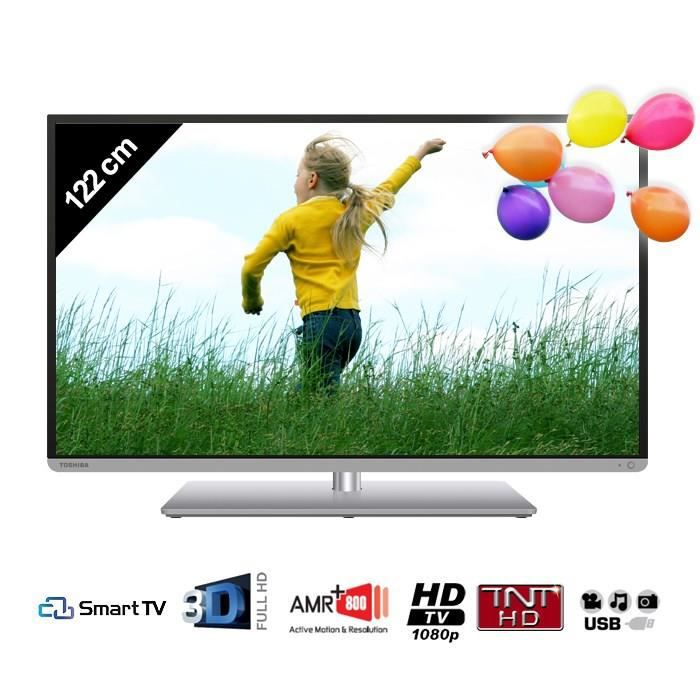 toshiba 48l5445dg smart tv 3d 122 cm t l viseur led avis et prix pas cher cdiscount. Black Bedroom Furniture Sets. Home Design Ideas