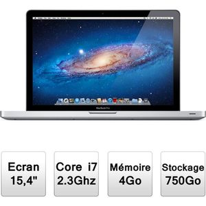 ORDINATEUR PORTABLE Apple MacBook Pro 15