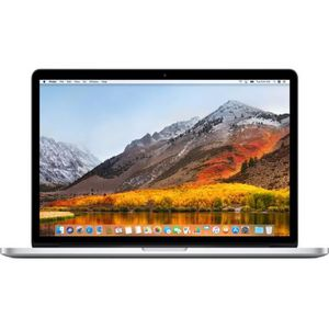 "Achat PC Portable Macbook Pro 15,4"" Retina - Intel Core i7 - RAM 16Go - 512Go pas cher"