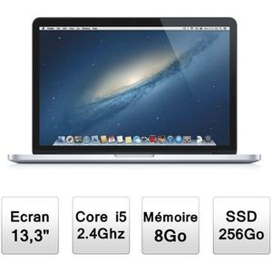"""Vente PC Portable Apple MacBook Pro 13,3""""  ( ME865F/A ) pas cher"""