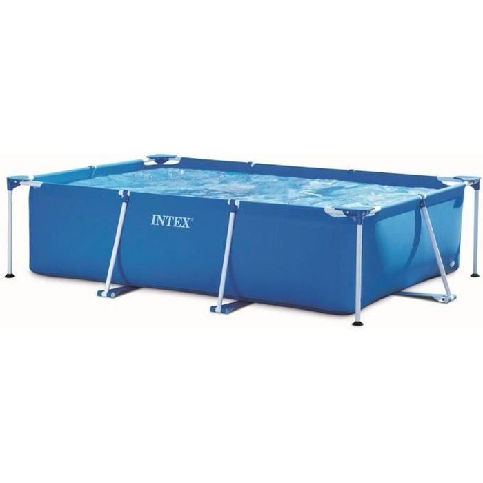 Piscine tubulaire rectangulaire 3 x 2 x achat for Piscine tubulaire intex rectangulaire