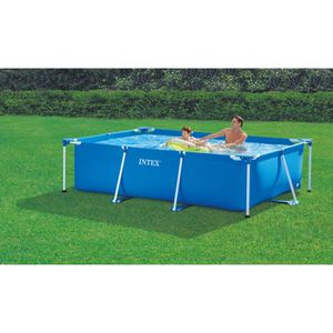 Piscine rectangulaire intex achat vente piscine for Piscine tubulaire 3 05 pas cher