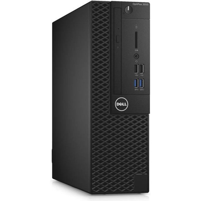 UNITÉ CENTRALE  DELL PC de bureau Optiplex 3050 - RAM 8Go - Intel