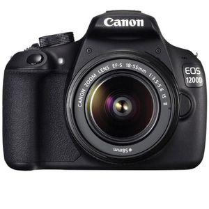 APPAREIL PHOTO RÉFLEX CANON EOS 1200D + objectif EF-S 18-55mm IS II