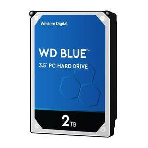 DISQUE DUR INTERNE WD Blue™ - Disque dur Interne - 2To - 5 400 tr/min