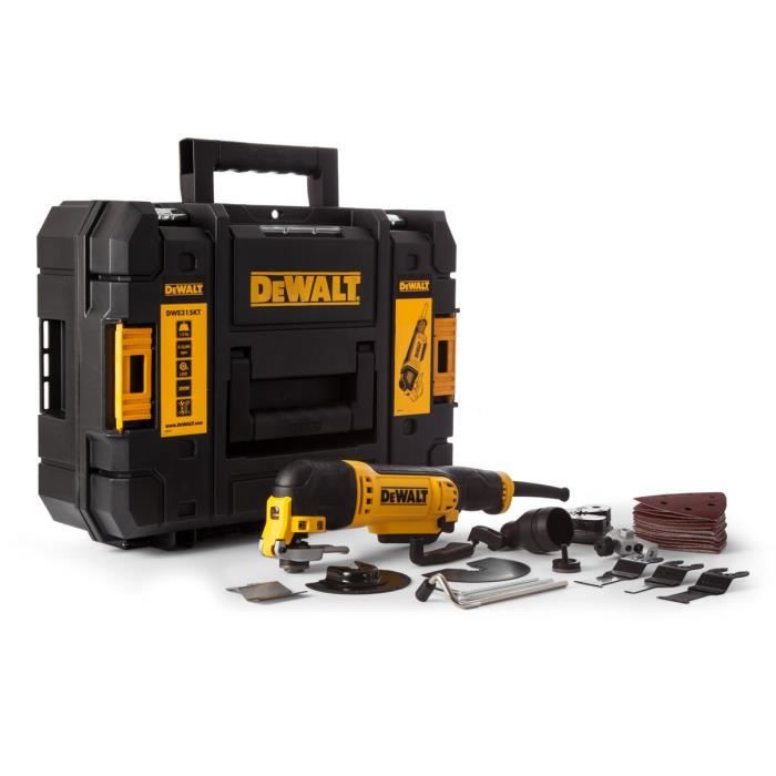 dewalt outil multifonctions dwe315kt 300w achat vente outil multifonctions cdiscount. Black Bedroom Furniture Sets. Home Design Ideas