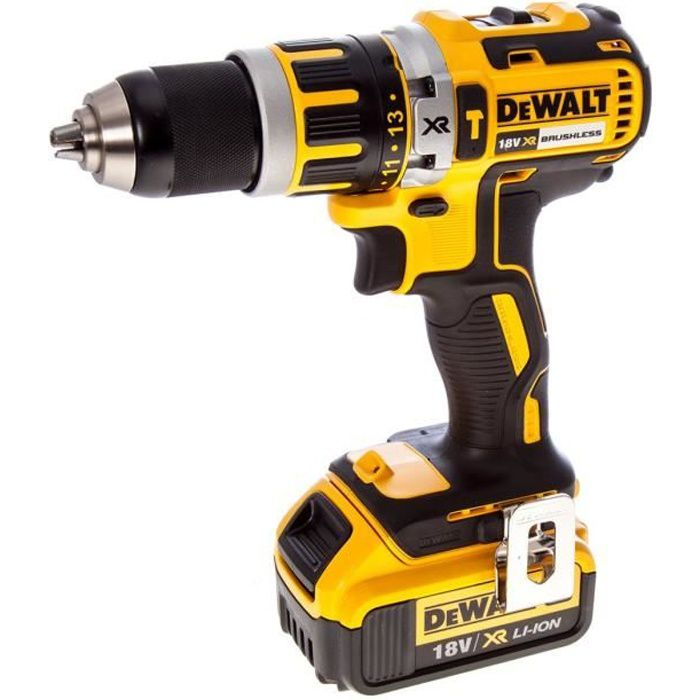dewalt perceuse visseuse percussion brushless 18v 4ah li. Black Bedroom Furniture Sets. Home Design Ideas