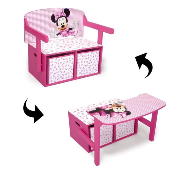 bureau enfant fille minnie. Black Bedroom Furniture Sets. Home Design Ideas