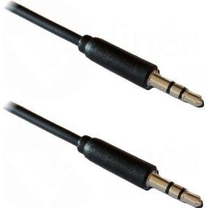 CÂBLE TV - VIDÉO - SON LINEAIRE A195NB Jack 3.5 mm stéréo mâle/mâle - Câb