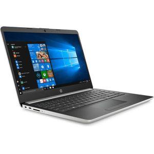 "Vente PC Portable HP PC Portable 14-dk0025nf - 14""FHD - AMD A9-9425 - RAM 8Go - Stockage 256Go SSD - Windows 10 pas cher"