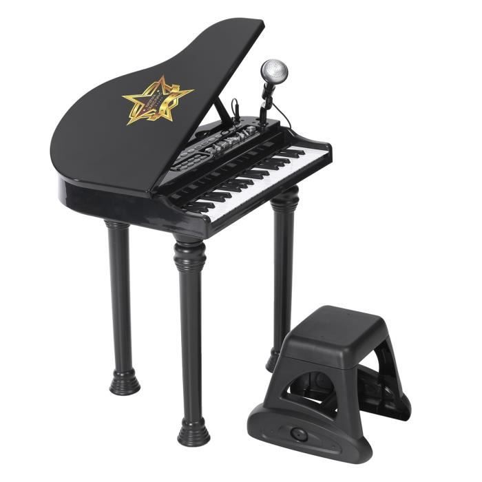 grand piano symphonique tabouret achat vente instrument de musique cdiscount. Black Bedroom Furniture Sets. Home Design Ideas