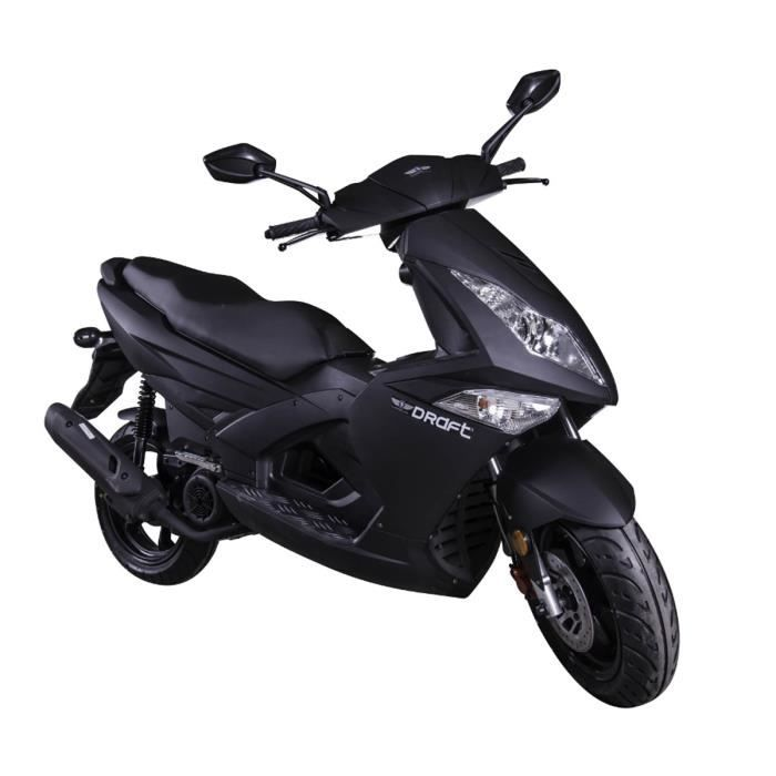 longjia scooter 125cc draft 4t 13 pouces noir mat achat vente scooter 0 cdiscount. Black Bedroom Furniture Sets. Home Design Ideas