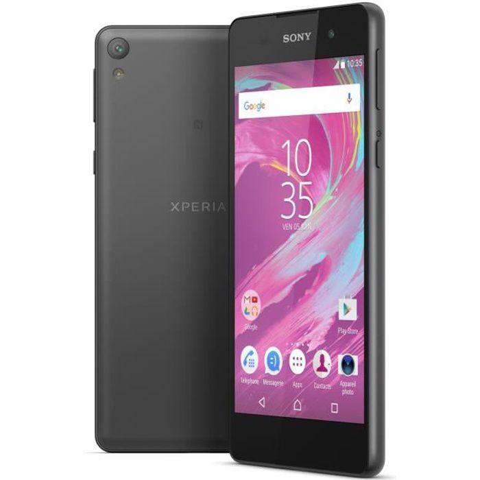 SMARTPHONE Sony Xperia E5 Noir