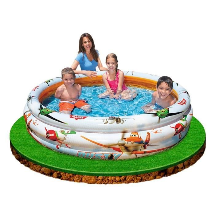 Planes piscine gonflable 3 boudins achat vente for Piscine 3 boudins intex