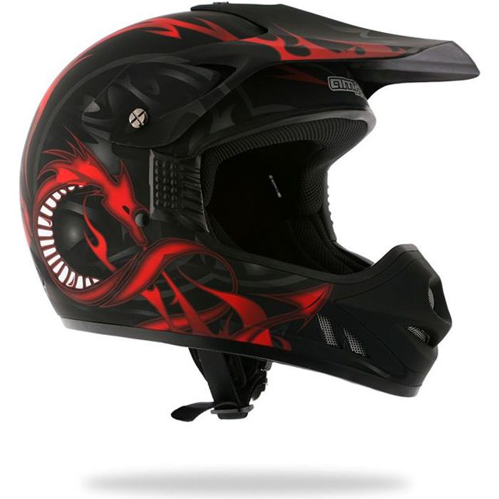 amx casque cross dragon 505 d co noir achat vente casque moto scooter amx casque cross. Black Bedroom Furniture Sets. Home Design Ideas