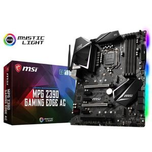 CARTE MÈRE Carte mere MSI MPG Z390 Gaming Edge AC, Intel Z390