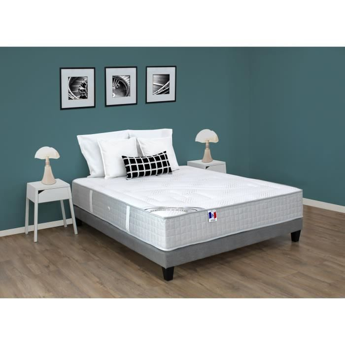 luxspring matelas 160x200 cm ressorts et m moire de forme. Black Bedroom Furniture Sets. Home Design Ideas