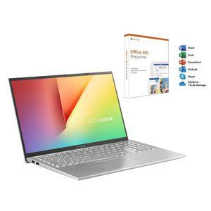 ORDINATEUR PORTABLE Ordinateur Ultrabook ASUS VivoBook S512DA-EJ315T -