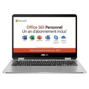 ORDINATEUR PORTABLE PC Portable-ASUS VivoBook Convertible Tactile TP40
