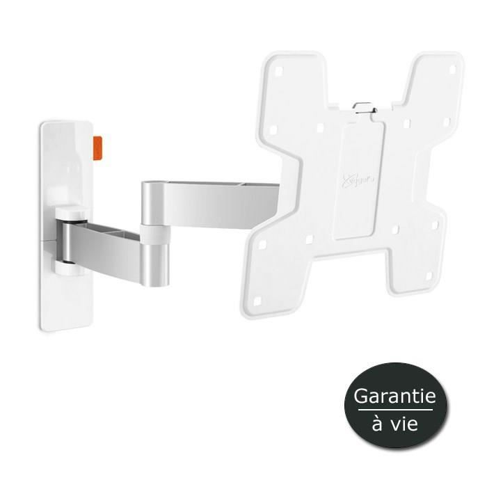 Vogel 39 s wall 2145 support tv mural orientable 19 37 blanc fixatio - Support mural tv blanc ...