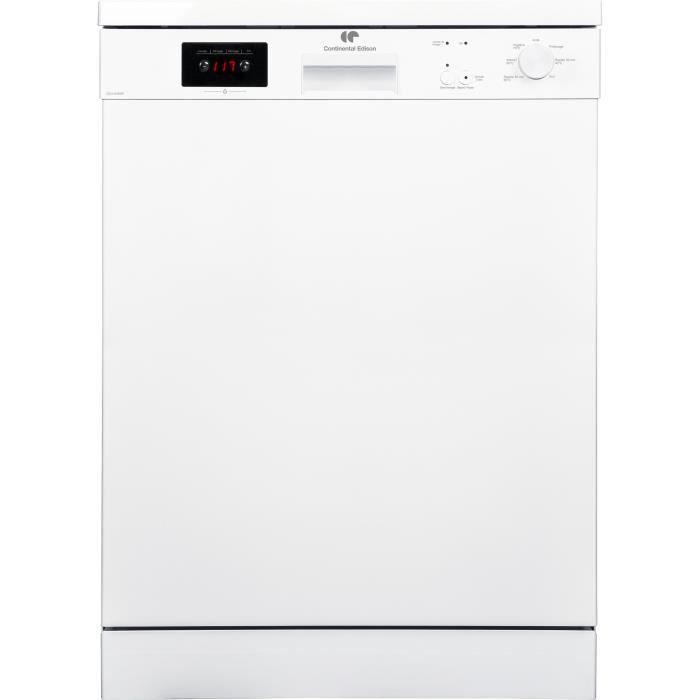 LAVE-VAISSELLE CONTINENTAL EDISON - CELV1245WP - Lave-vaisselle -