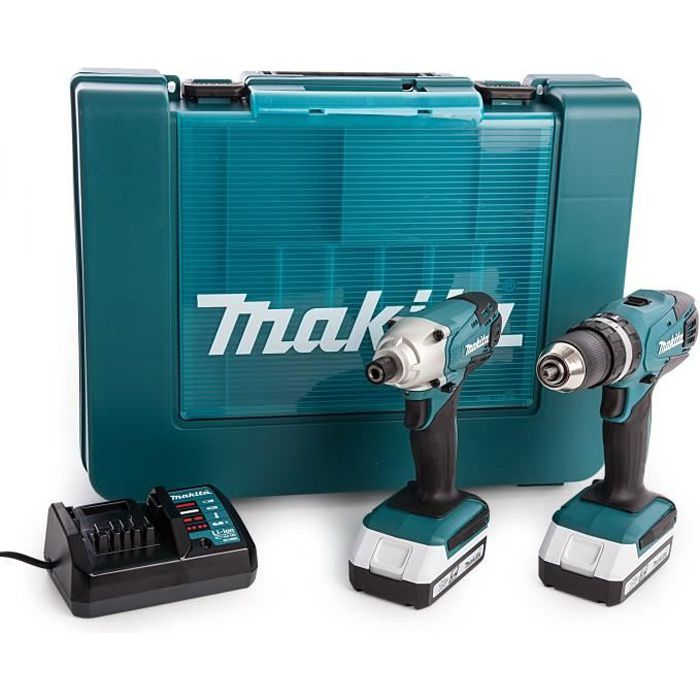 PACK DE MACHINES OUTIL MAKITA Pack perceuse-visseuse à percussion HP457D