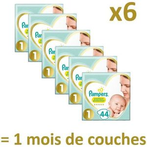 COUCHE PAMPERS New Baby Taille 1 - 2 à 5Kg - 264 couches