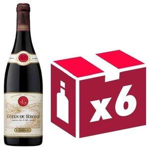 VIN ROUGE Côtes du Rhône E. GUIGAL 2015 6x 75cl vin rouge