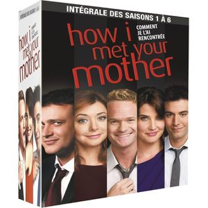 DVD SERIE TV DVD How I Met Your mother Integrale Saisons 1 à 6