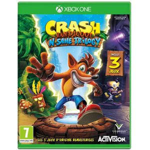 JEU XBOX ONE Crash Bandicoot N. Sane Trilogy Jeu Xbox One