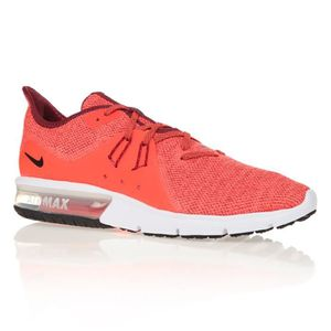 BASKET NIKE Chaussures Air Max Sequent 3 - Homme - ORANGE