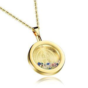 CHAINE DE COU SEULE Chaine De Cou Vendue Seule Femmes Médaille catholi