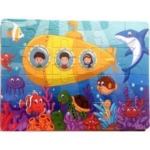 PUZZLE iportan® Animaux en bois Puzzle Blocks Puzzle Kid