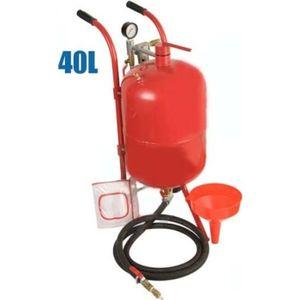 SABLEUSE Sableuse mobile 40 litres sableuse à pression 3418