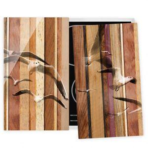 PLAQUE INDUCTION Couvre plaque de cuisson - Seagulls - 52x60cm, pro