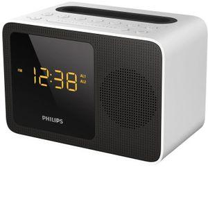 Radio réveil Philips AJT5300W Radio Réveil Bluetooth avec Tuner