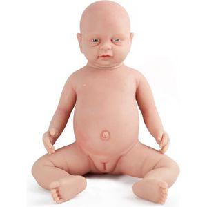 POUPÉE Vollence Poupée Reborn bébé réaliste 46 cm, sans P