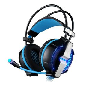 CASQUE AVEC MICROPHONE G7000 7.1 Virtual Game USB Surround Sound Headset