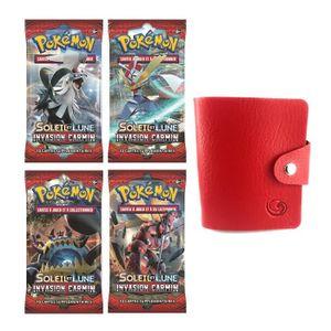 CARTE A COLLECTIONNER Carte Pokemon - Lot de 4 boosters Soleil et Lune I